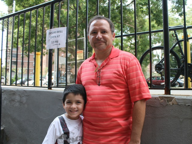 Dad Christian, 47, said he hopes his son, Diego, 6, will be able to live a more normal life.