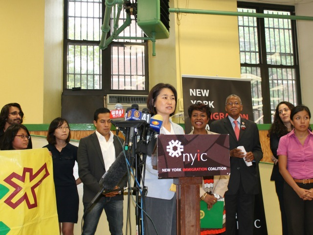 Chung-Wha Hong, executive director of the New York Immigration Coalition, said the move represents a positive step forward.