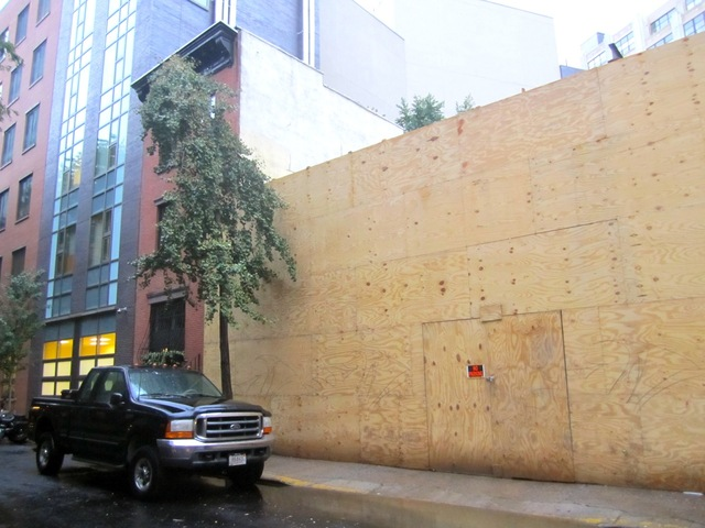 Community Board 2 approved Houston Hall's liquor license application with the stipulation that they use doors on Downing Street just east of Seventh Avenue South only as an emergency exit.