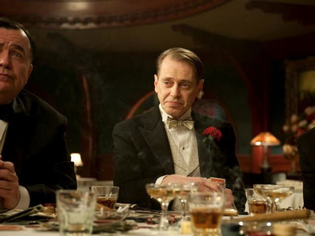 "Steve Buscemi stars in ""Boardwalk Empire."""