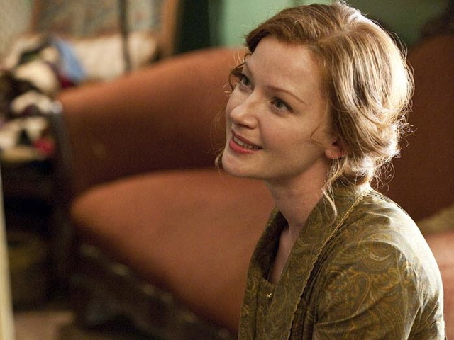 Gretchen Mol plays Gillian Darmody in the show.