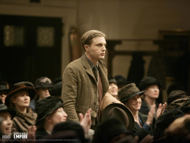 Michael Pitt plays Jimmy Darmody in the show.
