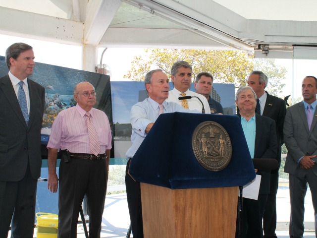 Mayor Michael Bloomberg celebrated the plans at a press conference Thursday.