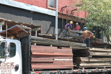 Troublesome Lenox Avenue Scaffolding Dismantled, For Now