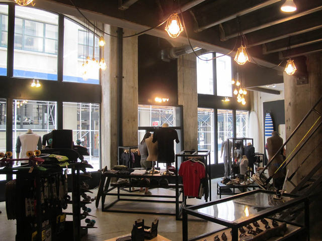 August 17, 2012 - The interior of Aegir Boardworks in DUMBO.