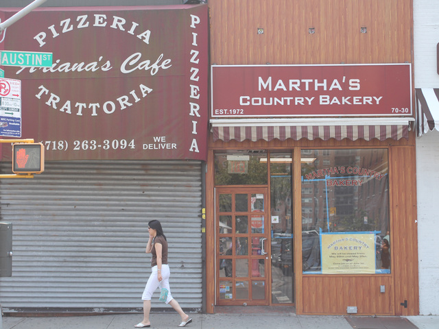 Chipotle will open in the former location of Martha's Country Bakery on Austin Street.