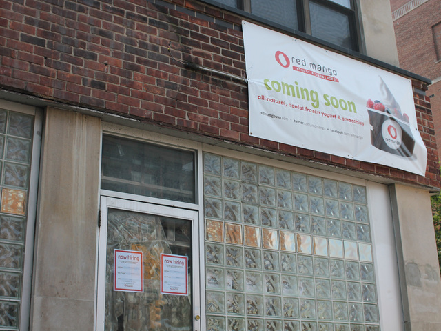 A Red Mango will open on Queens Boulevard and 70th Road.