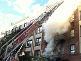 Inwood Fire Leaves 13 Families Homeless