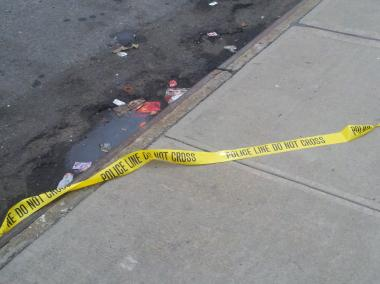 A man was shot in the neck at 175 Willoughby St. Nov. 19, 2012.