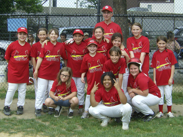 A local girls softball team, the Cardinals, will be playing at Dimattina Field in Carroll Gardens.