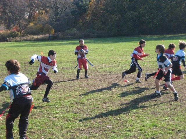 The South Brooklyn Baseball League also offers teams for flag football and co-ed baseball for younger children.