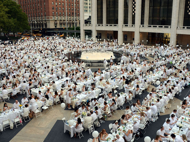 Le Diner en Blanc New York