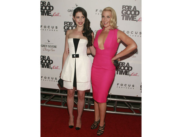 Lauren Anne Miller and Ari Graynor at
