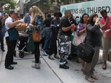 Whole Foods 57th Street Store Opening Draws Throngs of Shoppers