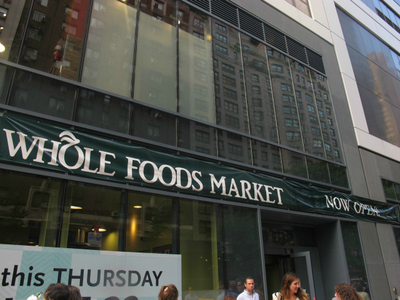 <p>Another Whole Foods location is the anchor retail tenant for a new building that houses P.S. 59 and the High School of Art and Design.</p>