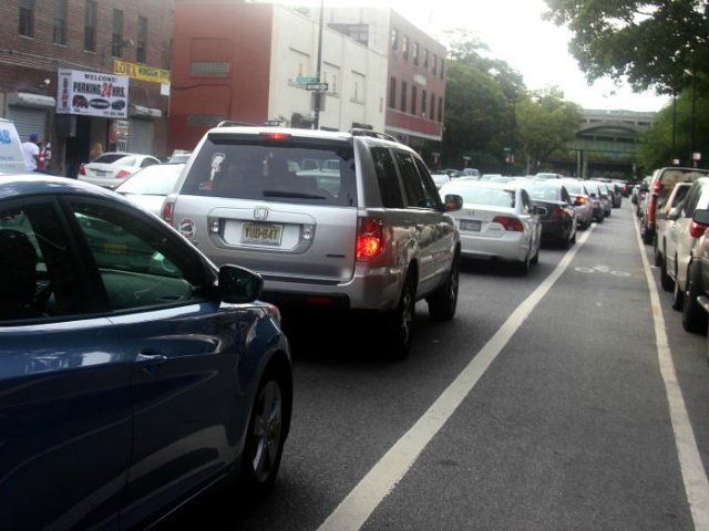 It can take drivers more than one hour to traverse the Dyckman Street area because of traffic delays, locals say.
