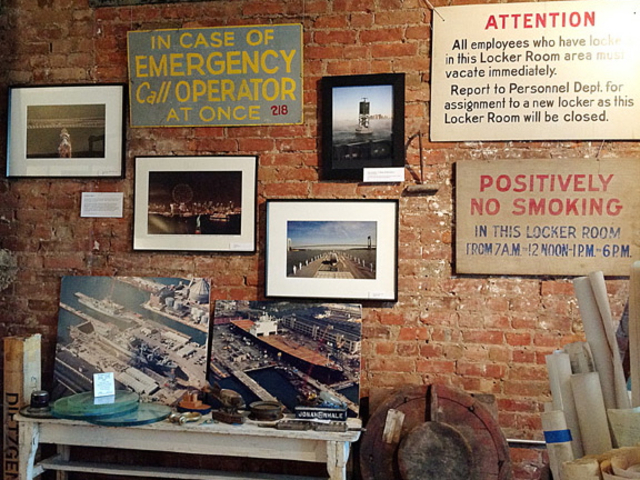 Red Hook's PortSide New York is selling maritime-themed art, artifacts and antiques at a fundraiser Thursday night, Aug. 23, 2012.