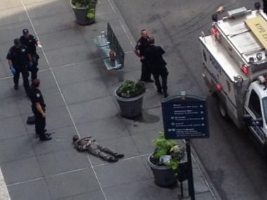 Jeffrey Johnson, 58, allegedly shot 10 people, killing one, outside the Empire State Building.