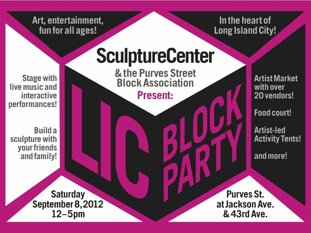 The LIC Block Party will take place on September 8th.
