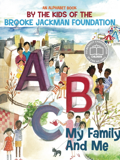 The book 'ABC: My Family and Me' will be presented September 8 at the Brooke Jackman Foundation Read-a-thon in the WInter Garden of the World Financial Center.
