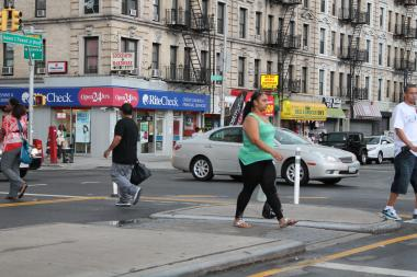 Critics of  changes made  by the Department of Transportation to Adam Clayton Powell Jr. Boulevard say the strip is more congested and has lost some of its ambience but the DOT says the changes are already having an impact in the targeted areas.
