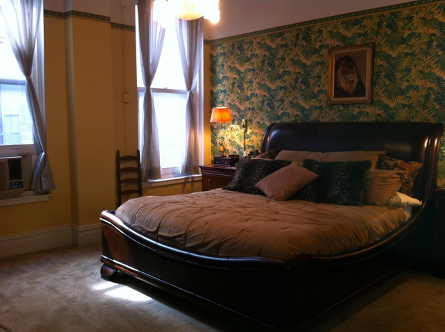 The bedroom at 10 E. 18th St. #5N.
