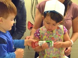 Class Teaches 2-Year-Old Kids to Whip Up Gourmet Fare