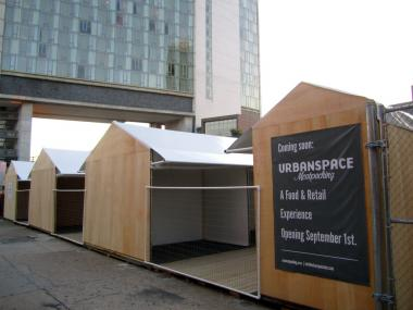 UrbanSpace NYC plans to open an open-air market in the Meatpacking District Sept. 1, 2012, but it never applied for permits to built it, the Department of Buildings said Aug. 29, 2012.