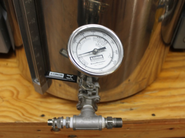 Brewing tanks at Bitter and Esters.