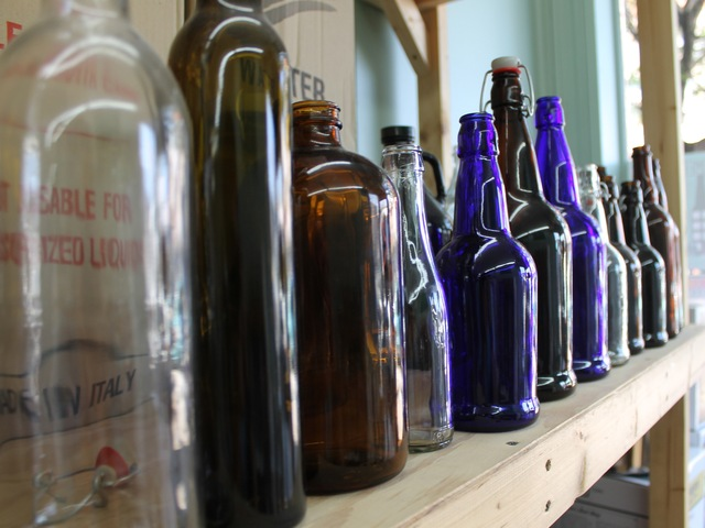 Bottles at Bitter and Esters.