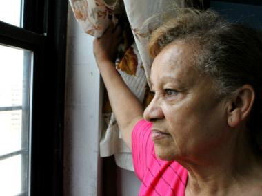 Maria Ruiz, 67, has lived in the Monroe Houses in Soundview since 1980. In recent years, she has made multiple transfer requests to NYCHA for health reasons.   NYCHA denied her requests.   Ruiz lives with her daughter, Sofia Alequin, 43, and her granddaughter, Madison Alequin, 4, who suffers from many medical problems, including trouble breathing.   After years of waiting, the family is still stuck in their apartment.