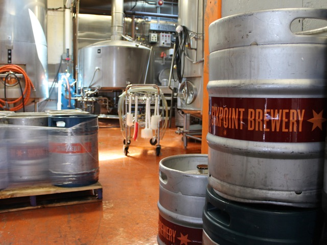 Sixpoint Brewery in Red Hook is the only beer brewery listed on the Brooklyn Spirits Trail.