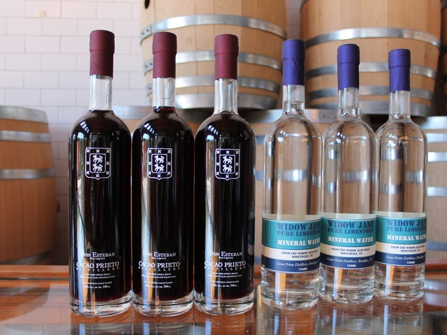 Cacao Prieto in Red Hook uses organic cacao to make liquors and desserts.