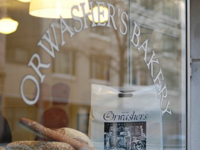 Orwasher's Bakery, from the Upper East Side, is one of the vendors at All Good Things in TriBeCa.