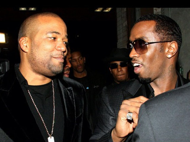 Chris Lighty and Sean P. Diddy Combs, who said on Twitter that he was
