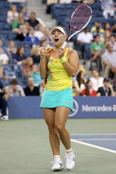 Angelique Kerber defeated Venus Williams  at the USTA National Tennis Center in Flushing, Queens, Thursday, August 30, 2012.