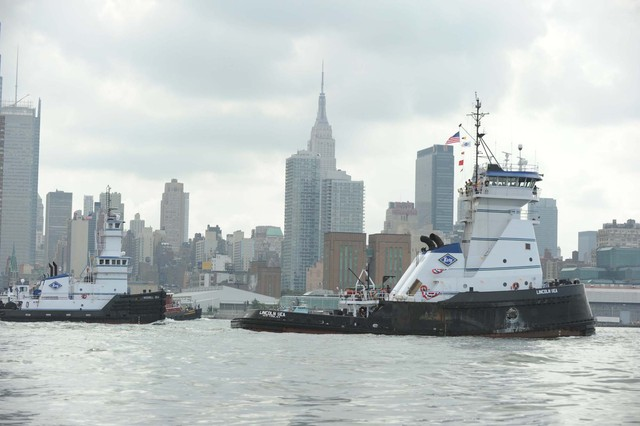 Competition was fierce in the Great Northern Tugboat Race in the Hudson River on September 2, 2012.