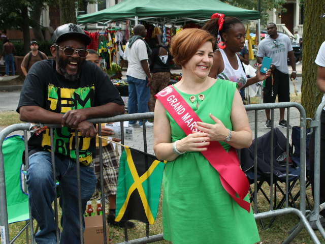 City Council Speaker Christine Quinn served as grand marshal of the 45th annual West Indian-American Day Parade.