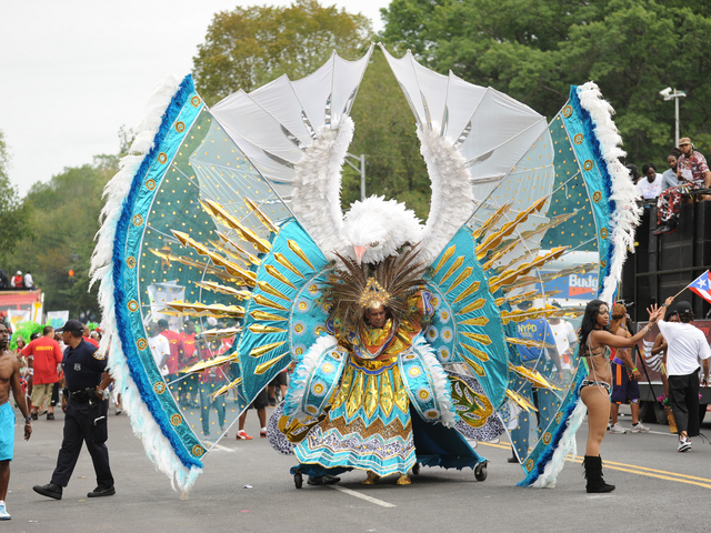 Scenes from the West Indian American Day Parade on Eastern Parkway on Sept. 3, 2012.