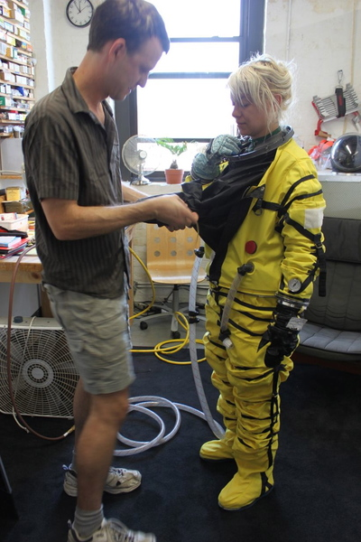 Final Frontier Design specializes in space suit making.