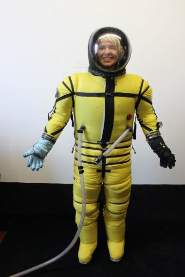 A new class in Bushwick's 3rtd Ward Collective to make space suits.