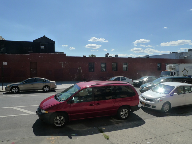 The Royal Palms Shuffleboard Club will open in this red building on Union Street in Gowanus.