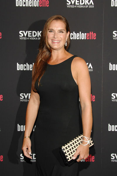 Brooke Shields at the premiere of