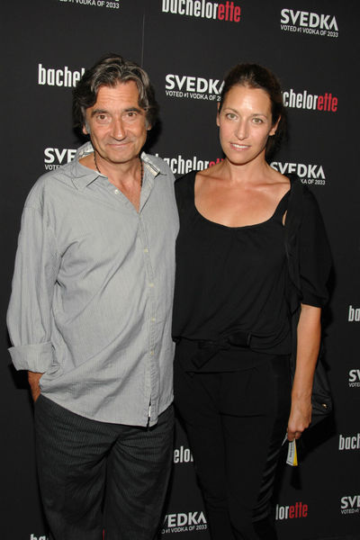 Griffin Dunne and stylist Anna Bingeman at the premiere of
