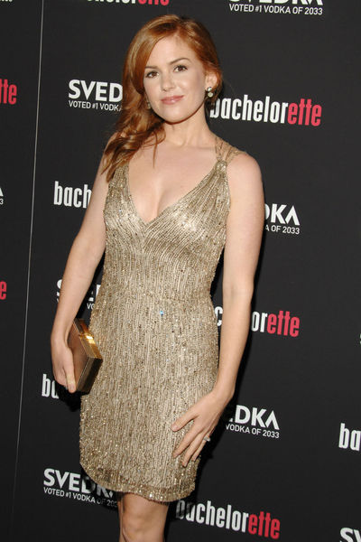 Isla Fisher wearing Stella McCartney at the premiere of