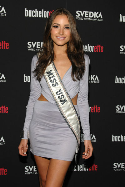 Miss USA Olivia Culpo at the premiere of