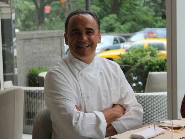 Jean-Georges Vongerichten is offering a fashion week prix-fixe at his Nougatine restaurant at 1 Central Park West.