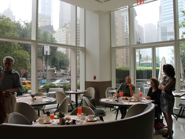 Nougatine restaurant at 1 Central Park West.