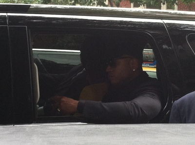 Rapper LL Cool J was among those in attendance at Hip-Hop manager Chris Lighty's funeral, Sept. 5, 2012.