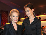 Katie Holmes, Brooklyn Decker, Jessica Chastain Kick Off Fashion Week